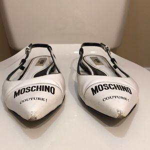 🌷NEW🌷VTG Moschino Couture Milano Slingback Shoes